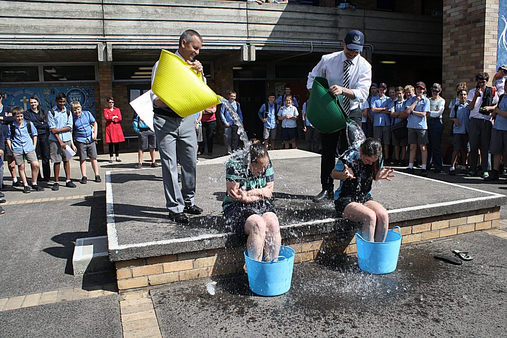 Ice Bucket Challenge Coonabarabran High School